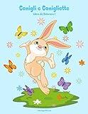 Conigli e Conigliette Libro da Colorare 1: Volume 1