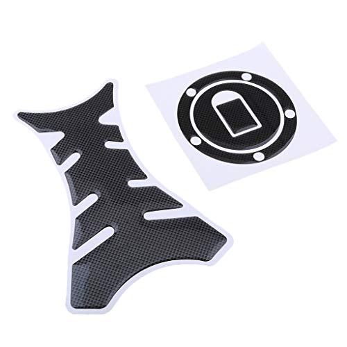 Homyl Autocollants De Protection Tampon Réservoir De Moto - #2