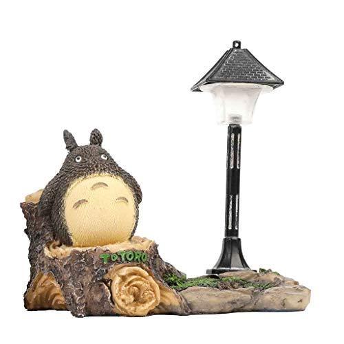 Totoro Nachtlicht Kreative Handwerk Nachtlampe Totoro Figur Ornamente Harz Geburtstagsgeschenk Dekor Dekoration Home Wohnzimmer Festival Geschenke