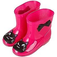 Meijunter Unisex Bambini Rainboots Stivali da pioggia Impermeabile Animal Prints Ragazzi Ragazze Caucci¨´ Rain Shoes Boots