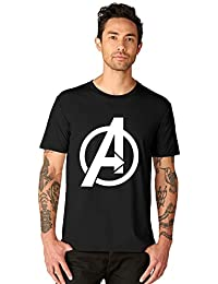 07b3a648d7b7c bluehaaat Glow in Dark Avengers End Game Graphics Cotton T-Shirt for Men