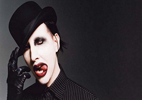 Marilyn Manson Rock-Metall-Albumcoverdesign, Musik, Band, Bild, einzigartiger Druck, A3-Poster
