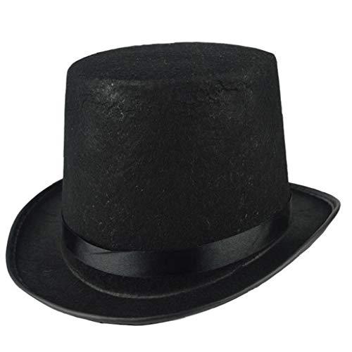 ut aus Filz Gentleman Hüte Feiertags-Party-Performance-Jazz-Kappe Halloween Props ()