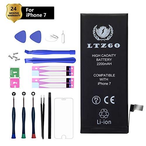 LTZGO Batería Alta Capacidad Compatible iPhone 7