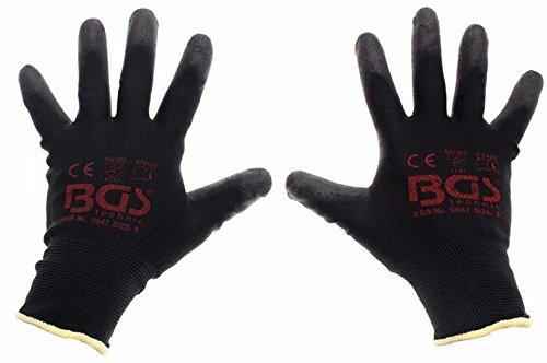 BGS Mechaniker Handschuhe, Größe 8/M, 1 Stück, 9947 Dachrinne Handschuh