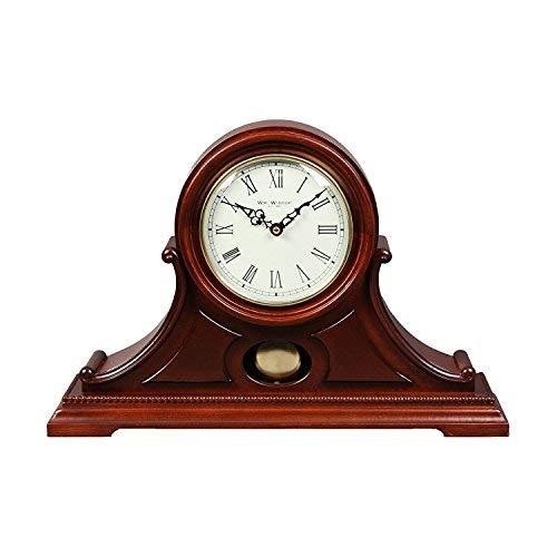 ea2ae9eaefc87 WM. Widdop Classic kurz Napoleon Kaminuhr Quarz Uhr mit Pendel r?mischen