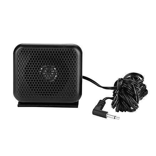 Bewinner Mini-Außenlautsprecher für mobiles Ham-Radio, Portable P600 Autoradio-Außenlautsprecher für Yaesu Icom Kenwood Mobile Radio - Ham-radio-lautsprecher