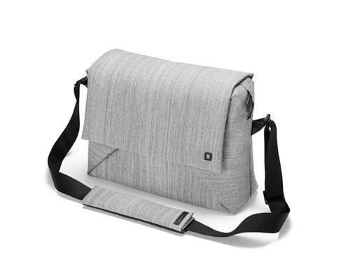Dicota Code 13-15 15 Briefcase Grey - notebook cases (38.1 cm (15), Briefcase, Grey, 13 MacBo