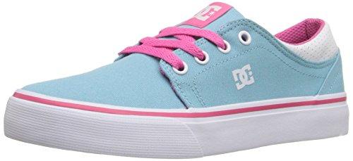 DC Trase TXDWA Jungen Sneakers Cyan/Magenta