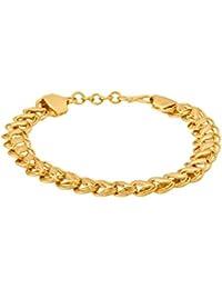 f77911d89f168 Voylla and Strand Bracelet for Men (Golden) (8907617493015)