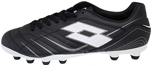 Lotto Proxima II FG Fussball Schuhe Soccer (43 EU, Schwarz)