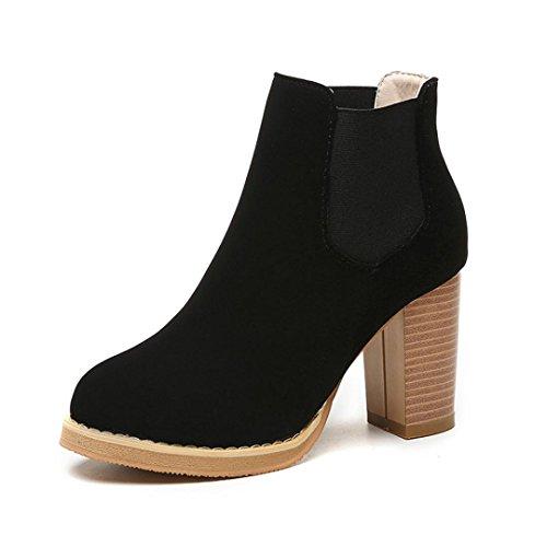 overdose-hauts-martin-boots-femme-ronde-tete-en-cuir-cheville-bottes-a-talons-35-noir