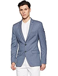 Raymond Men's Notch Lapel Slim Fit Blazer