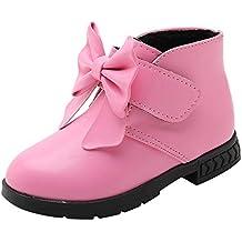 Darringls Zapatillas para Bebés Zapatos de Bebé Zapatillas de Deporte niños niños niñas bebé Bowknot sólido