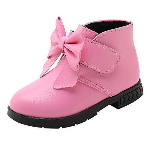YanHoo Zapatos niñas pequeñas Niñas niños Arcos