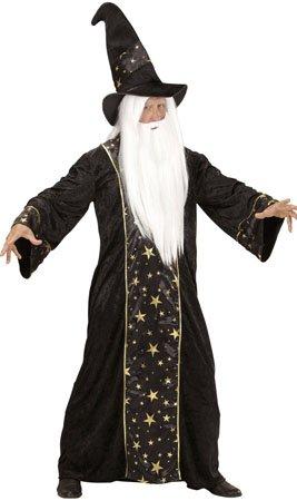 Widmann wdm15223-Kostüm Zauberer Fantasy, schwarz, - Spanisch Themen Kostüm