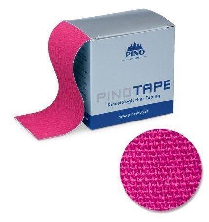 Pinotape Pro Therapy - Das Original - Kinesiologie Baumwolle Tape verschiedene Farben und Designs 5 cm x 5 m, besonders hautfreundlich - Physio-Tape (Pink)