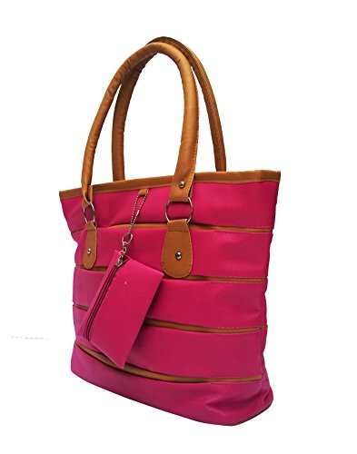 Vintage Stylish Ladies Handbag Pink(bag 131)
