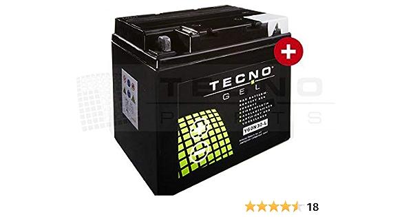 Gel Motorrad Batterie Tecno Gel 53030 12v Gel Batterie 30ah 187x130x170 Mm Inkl Pfand Auto