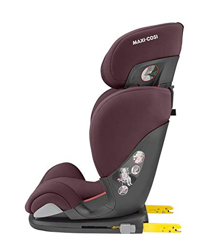 Maxi-Cosi RodiFix AirProtect Child Car Seat, Isofix Booster Seat, Red, 15-36 kg Maxi-Cosi Booster car seat for children from 15-36 kg (3.5 to 12 years) Grows along with your child thanks to the easy headrest and backrest adjustment from the top Patented air protect technology for extra protection of child's head 7