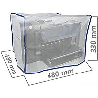 BeMatik - Copertina Antipolvere di Protezione per Stampante Laser Coperchio 480 x 480 x 330 mm
