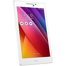 "Asus ZenPad 7 - Tablet de 7"" (2 GB RAM, cámara de 5 Mp, 16 GB, Intel Atom Quad-core de 1.44 GHz), blanco"