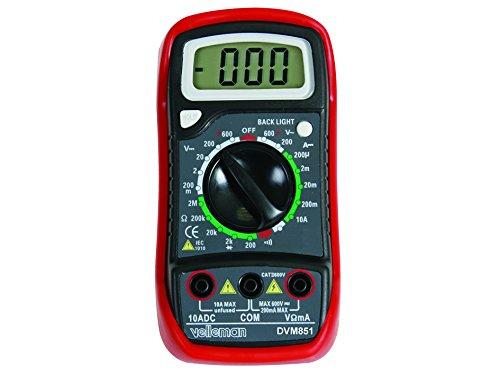 Velleman DVM85110A Digital Multimeter Dmm-digital-multimeter