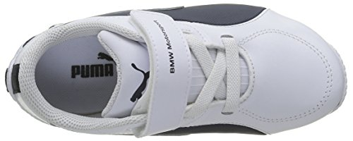 Puma Ps Drift Cat 5 L Bmw, Baskets Basses Garçon Blanc (White/Team Blue)