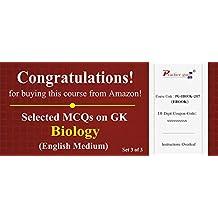 Practice Guru Selected MCQs on GK - Biology Set 3 of 3 (Voucher)