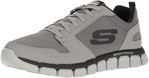 Skechers 52618 Scarpa ginnica Uomo Gray/Black