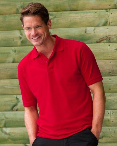 ... Russell strapazierfähiges mit Kragen/Bündchen Short Sleeve Casual Wear  Herren Polo-Shirt Mehrfarbig ...