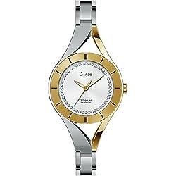 Gardé Ruhla Uhren Damen Titan Armbanduhr Modell Elegance 26113 mit Saphirglas
