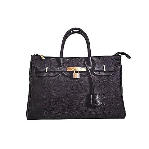 wolu einfache Art und Weise Handtasche Einkaufstasche für Damen (Nylontasche)