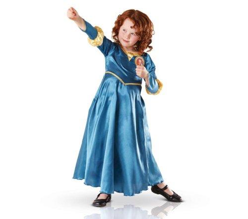 RUBIE'S Disney Princess - Kinderkostüm Merida - Größe 7-8 Jahre