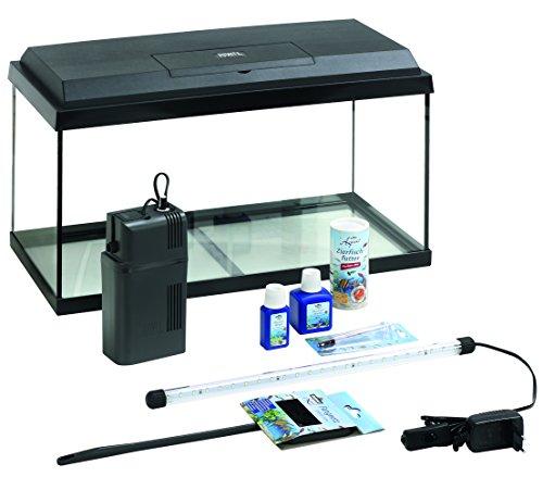 Dehner Aqua Aquarium Starterset 60, ca. 61 x 37 x 31 cm, inkl. Futter und Pflegeprodukten