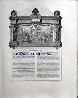 MONITEUR DES ARCHITECTES (LE) [No 11] du...