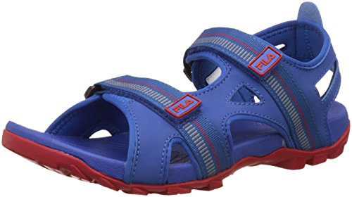 Fila Men's Warmer Dark Blue and Red Sandals and Floaters - 8 UK/India (42 EU)