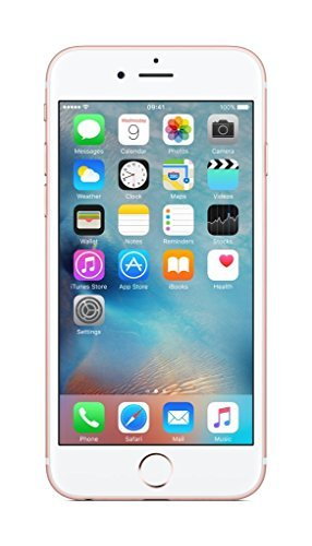 Apple iPhone 6s, 4,7in Display, SIM-Free, 64 GB, 2015, Roségold (Refurbished) (Sim-fehler)