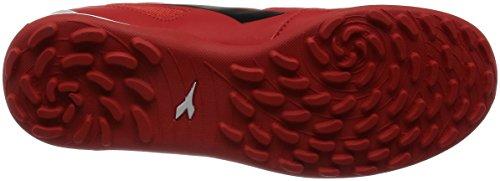 Diadora Quinto6 Tf, Chaussures de Football Homme Rosso (Rosso/Nero/Bianco)