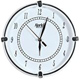 Ajanta Quartz Wall Clock With Round Dail Shape 411 White For Office And Home