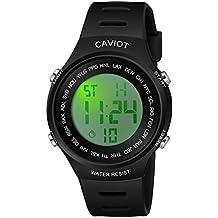 Caviot Sports Multi-Functional Digital Multicolour Dial Unisex Watch - CDG3602
