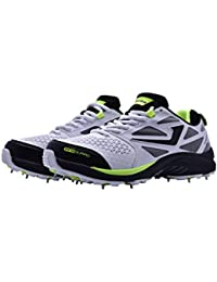 91265981ef1 Jazba Mens SKYDRIVE 117 Cricket Shoes Metal Spikes