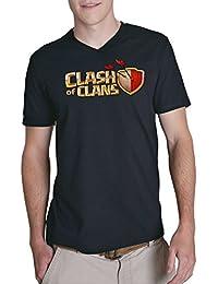 Clash of Clans Fan V-Neck Black Certified Freak
