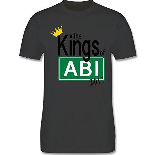 Abi & Abschluss - The Kings of Abi 2017 - Herren Premium T-Shirt Dunkelgrau