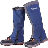 YiLianDa Unisex Imperméable A L'eau Anti Neige Randonnée Extérieure Gaiters A Pied Escalade Chasse Snow Legging Leg Cover Wraps