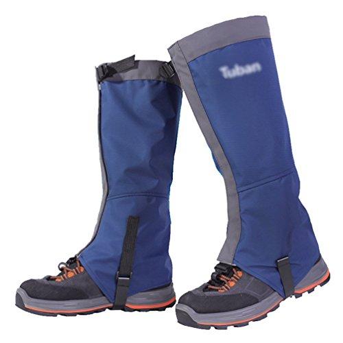 YiLianDa Ghette Da Trekking Velcro In Tessuto Impermeabile E Traspirante Per Alpinismo Attività All'aperto Escursionismo Camminate Arrampicate Neve