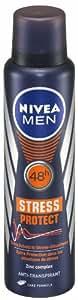 Nivea For Men Stress Protect Anti-Transpirant Spray, 3er Pack (3 x 150 ml)