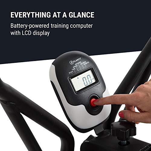 Klarfit Bogera X Crosstrainer mit Trainingscomputer Bild 4*