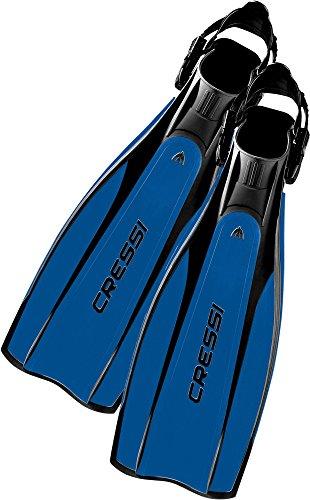 Foto de Cressi Pro Light - Aletas, color negro/azul, talla M-L