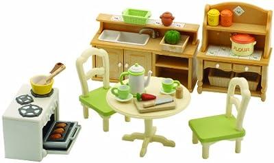 Sylvanian Families - Cocina de juguete para casas de muñecas de Sylvanian Families